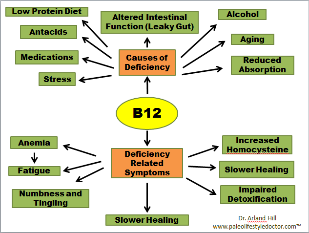 B12 Deficiency Symptoms